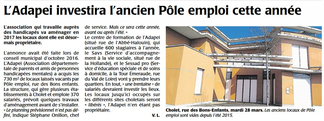 Article Courrier Ouest