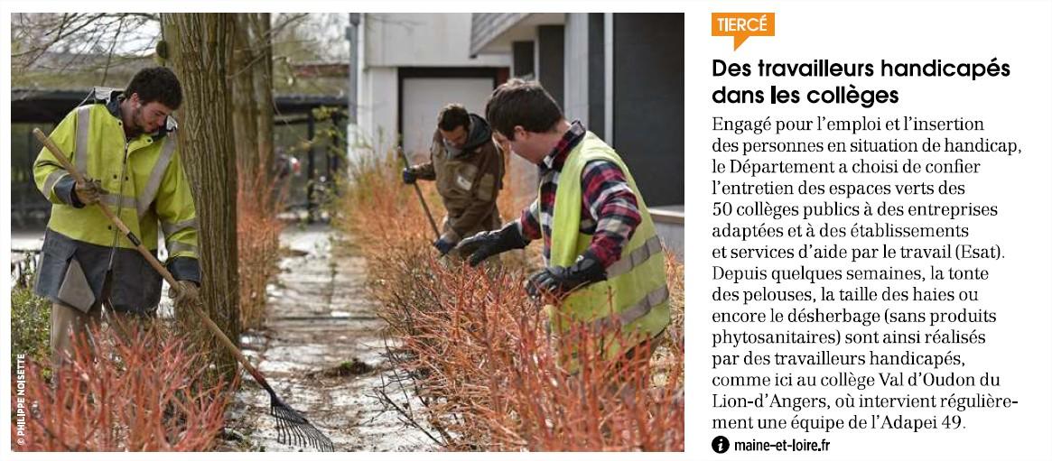 article magazine dep 49